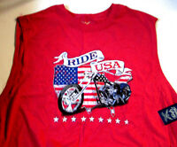 Ride Usa- Faded Glory- Red- 2xl- Wear It With Pride-