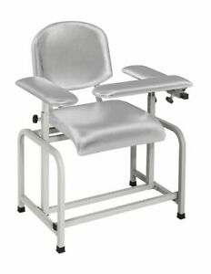 Wondrous Details About Adirmed Silver Gray Padded Phlebotomy Blood Drawing Chair Theyellowbook Wood Chair Design Ideas Theyellowbookinfo