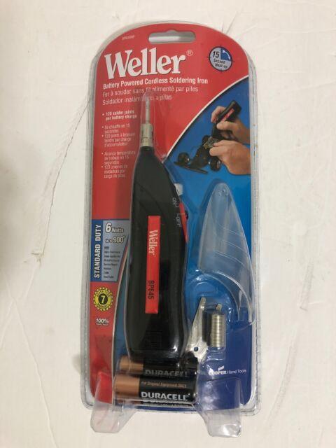 Weller BP645 Battery Powered Soldering Iron Kit w// Solder SEALED NEW