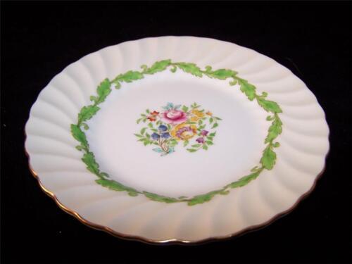 "7 3//4/"" Salad Plate GREEN LEAF Minton ARDMORE"