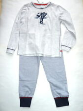 17 - JUNGEN- Schlafanzug  Elefant, grau   v. Sanetta  Gr.116-128