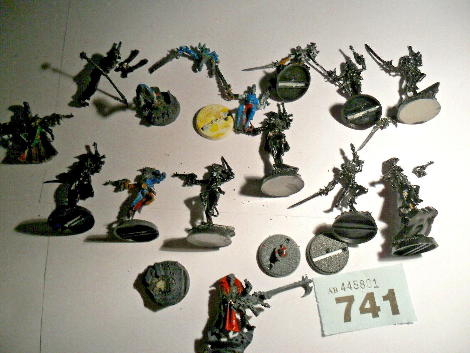 Warhammer 40k Eldar Aeldari Drukhari Harlequin troupe character resin metal B741
