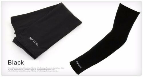 Cooling Fishing Sport Arm Stretch Sleeves Sun Block UV Protection Covers Outdoor