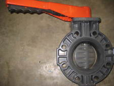 "HAYWARD 4"" Butterfly Valve, PVC, FPM, Lever (A1)"