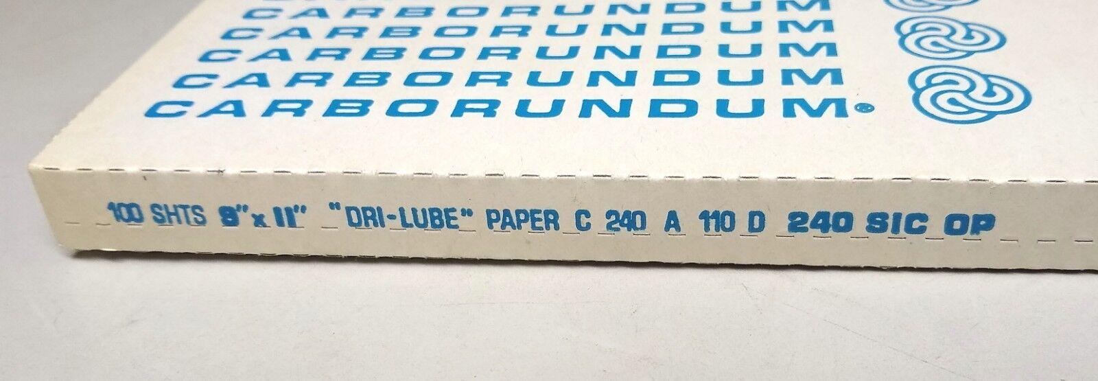 9 x 11 Garnet Dri Lube 180 grit 100 Sanding sheets 11279 Sander Sand Paper