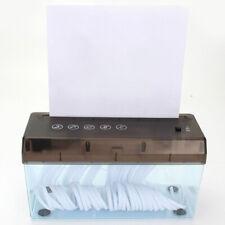 Usb Electric Paper Shredder Mini Gadget Shredding Box Desktop Table Home Office