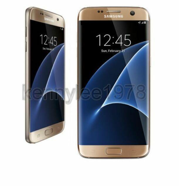 Samsung Sm G935u Galaxy S7 Edge 32gb Unlocked Smartphone Gold For Sale Online Ebay
