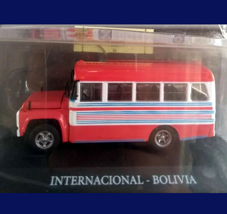 INTERNACIONAL - BOLIVIA - BUSES OF THE WORLD - silverINA