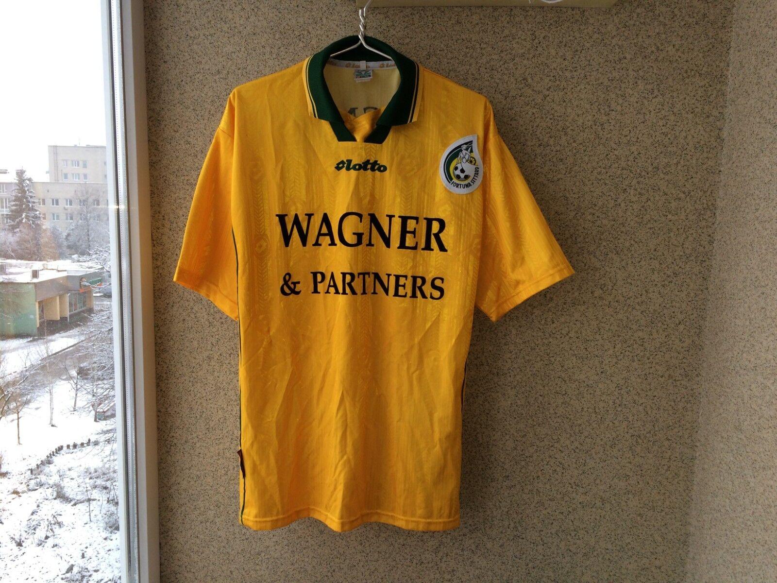 Fortuna Sittard Fútbol Camisas 2000 2001 Jersey 2XL LOTTO Fútbol Holanda Raro