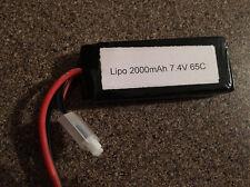 Zeda Power 2000mah Lipo Battery 7.4V 2S LC Racing Losi Mini 8 Dromida 1/18 1/14