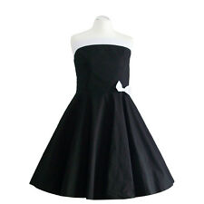 Rockabilly 50er Neckholder  Kleid Petticoat Pin Up Party Baumwolle S/M 103-7