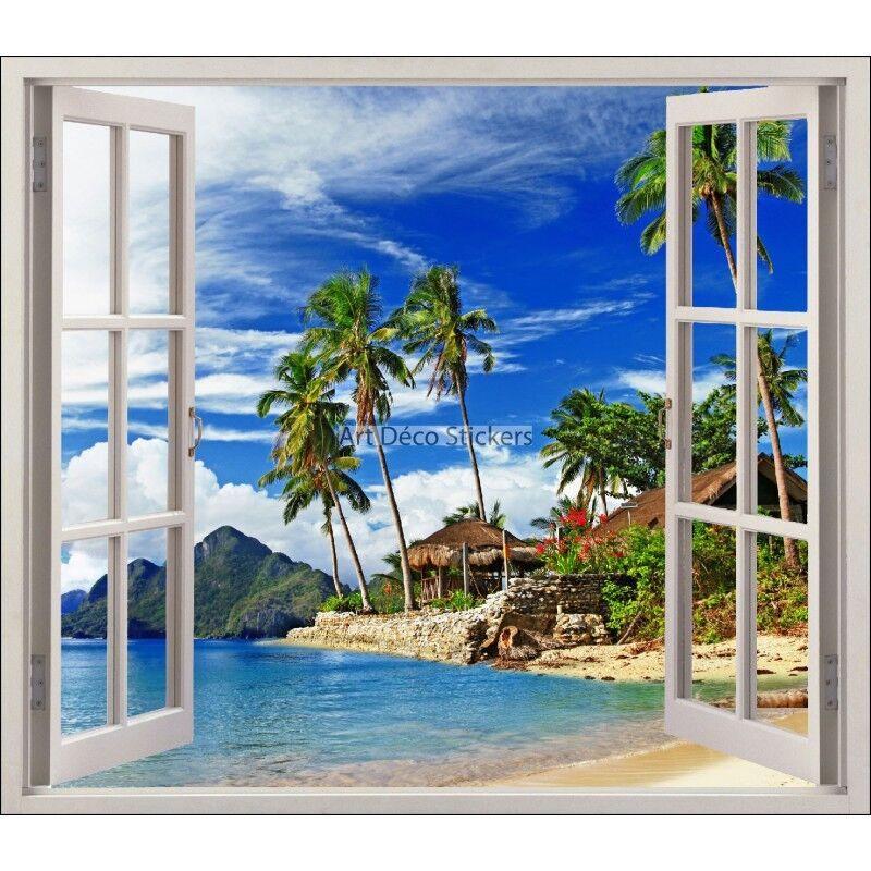 Adhesivo ventana trampantojo el ojo del Trópicos ref 5480 5480