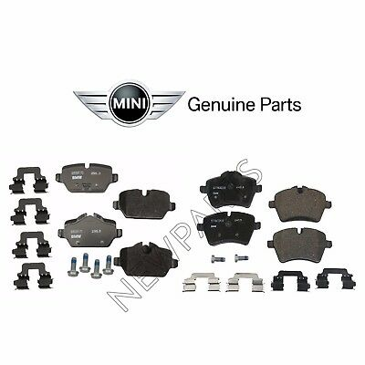 2014 2015 2016 For Mini Cooper Countryman Front and Rear Ceramic Brake Pads