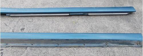 Volvo V70 Schweller Verkleidung Zierleiste links Blau Metallic Farbe 431 9178163