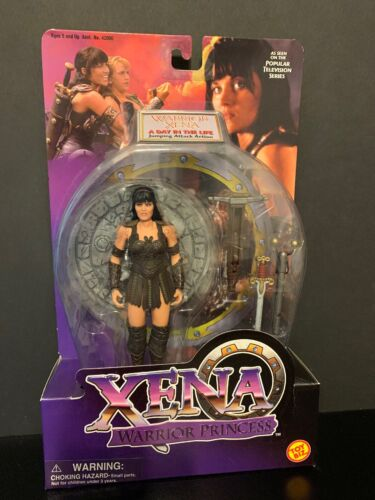 Xena Warrior Princess Worrior Xena Aday in the life Jumping Attack Action