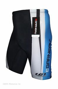 new-Louis-Garneau-JUNIOR-Sport-Clasico-cycling-shorts-with-padding-Made-in-USA