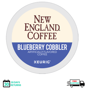 New England Blueberry Cobbler Keurig Coffee K-cups YOU PICK THE SIZE