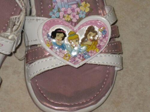 DISNEY PRINCESS Sandal shoes LIGHT UP Cinderella Snow White Belle Fairytale New