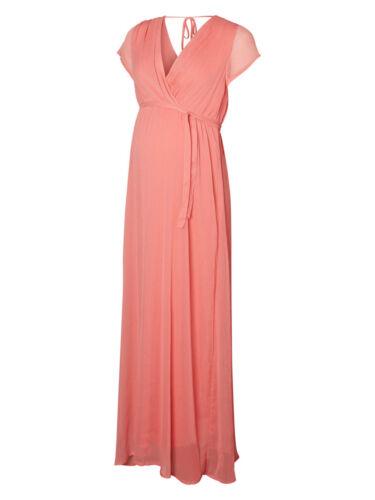 £ Formele Gelegenheid Maternity 60 Rose Mamalicious jurk Bnwt Rrp Tea 'penya' Maxi qwpT7vO