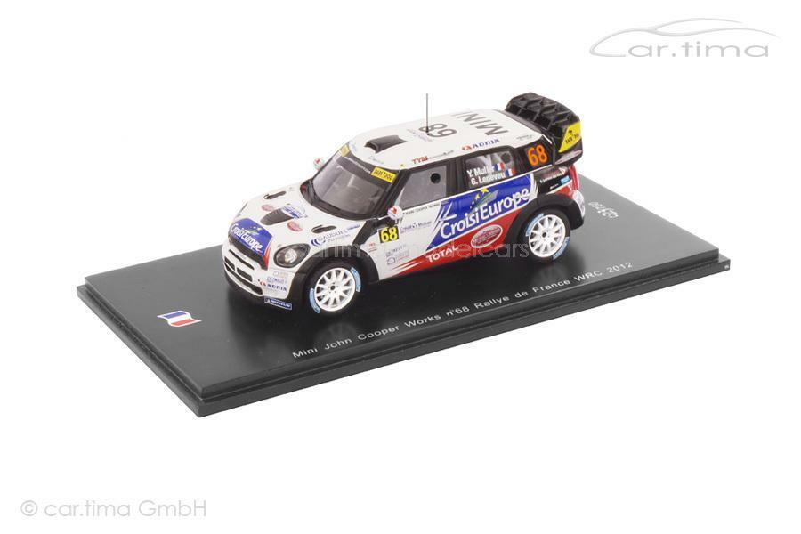 la red entera más baja Mini John John John Cooper Works-WRC Rally de France 2012-muller leneveu - 1 of 750  grandes ahorros