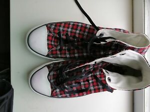 About Flannel 11 All Details Star Chuck Top Converse Size High Taylor n8Pk0wO