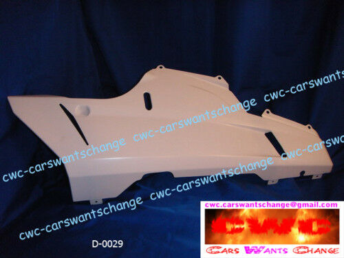 Ducati 848 , 1098 , 1198  LOWER FAIRING BELLY PAN RIGHT