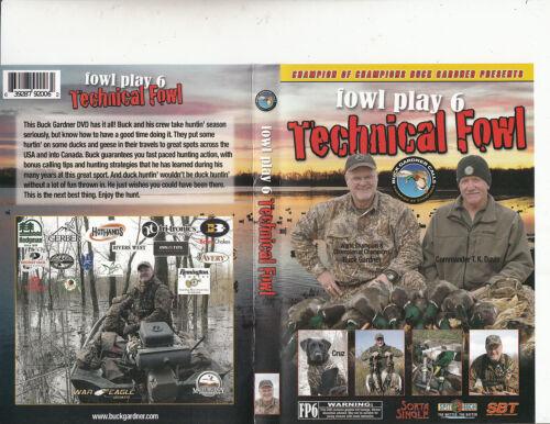 1 of 1 - Buck Gardner Calls:Champion-Fowl Play 6:Technical Fowl-2008-Bird Duck-DVD