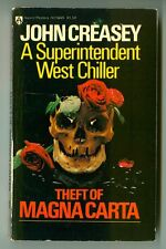 Theft of MAGNA CARTA by John CREASEY! Superintendent WEST Chiller AWARD Mystery!