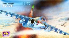 SUKHOI Su-25 FROGFOOT A (SOVIET AND UKRAINIAN AF MARKINGS)  1/72 SK