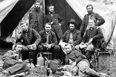 New 5x7 Civil War Photo: Staff of Union - Federal General Fitz-John Porter