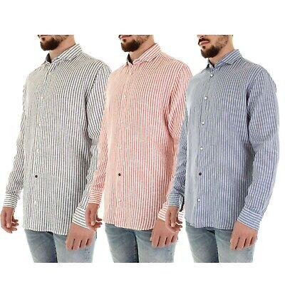 Diplomatisch Jack & Jones Men's Long Sleeves Slim Fit Striped Design Casual Formal Shirts Top Mit Den Modernsten GeräTen Und Techniken