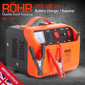 Rohr-voiture-chargeur-de-batterie-6-V-12-V-Smart-Pulse-Reparation-Portable-loisir-automobile