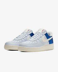 buy popular 8ec88 95ab5 Details about 2019 Nike Air Force 1 '07 QS Toronto Blue Jays AF1 Low Size 7  - AH8462 401