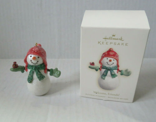 Choice 6 Different Snowman Hallmark Christmas Keepsake Ornaments  2000-2009 G