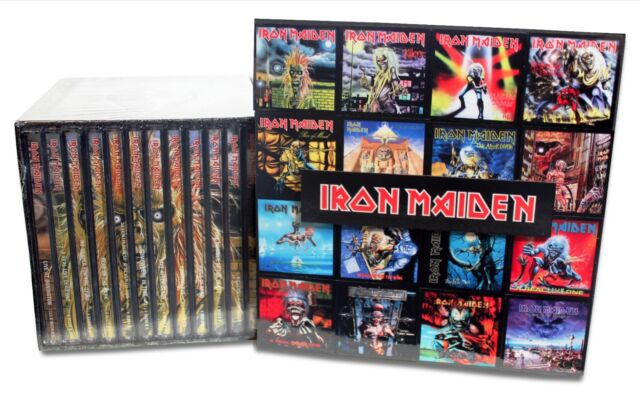 iron maiden enhanced cd collection