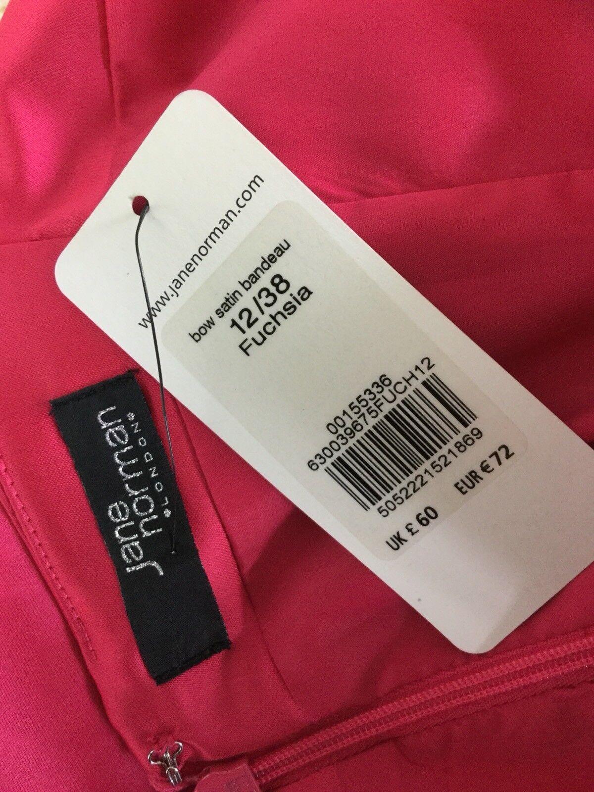 Jane Norman Norman Norman damen's Fuchsia Party  Dress Größe 12 | Gewinnen Sie hoch geschätzt  | Reichhaltiges Design  | Berühmter Laden  65d43d