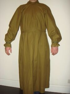 Military-Plague-Doctor-Robe-100-original-Army-USSR-Vintage-Size-L