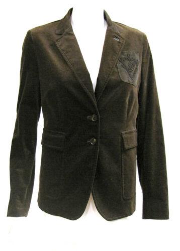 Vintage GUCCI Brown Velvet Logo Suede Pocket Class
