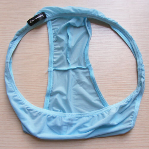 Men/'s Low-rise Bikini Briefs Underwear Bottom Comfy Soft Male Underpants Black