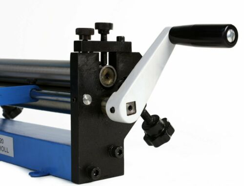 """Radius Bends Erie Tools 12/"""" Sheet Metal Slip Roll For Cylinders Reverse Curves"""
