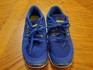 f71cd08377c1 Nike Free Run 5.0 725104-400 running shoes boys youth blue black ...