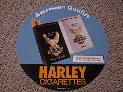 ???? Rarità Harley Davidson Età Molto Grande Sigarette Commercianti Spacciatori Adesivi- Alta Qualità
