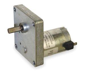 Dayton Model 1lng8 Dc Gear Motor 12 Rpm 1 90hp 12vdc