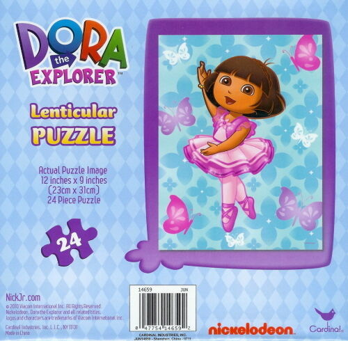 Dora the explorer ballet seems good
