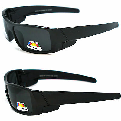 Men Polarized Lens Gangster Black OG Sunglasses Locs Biker