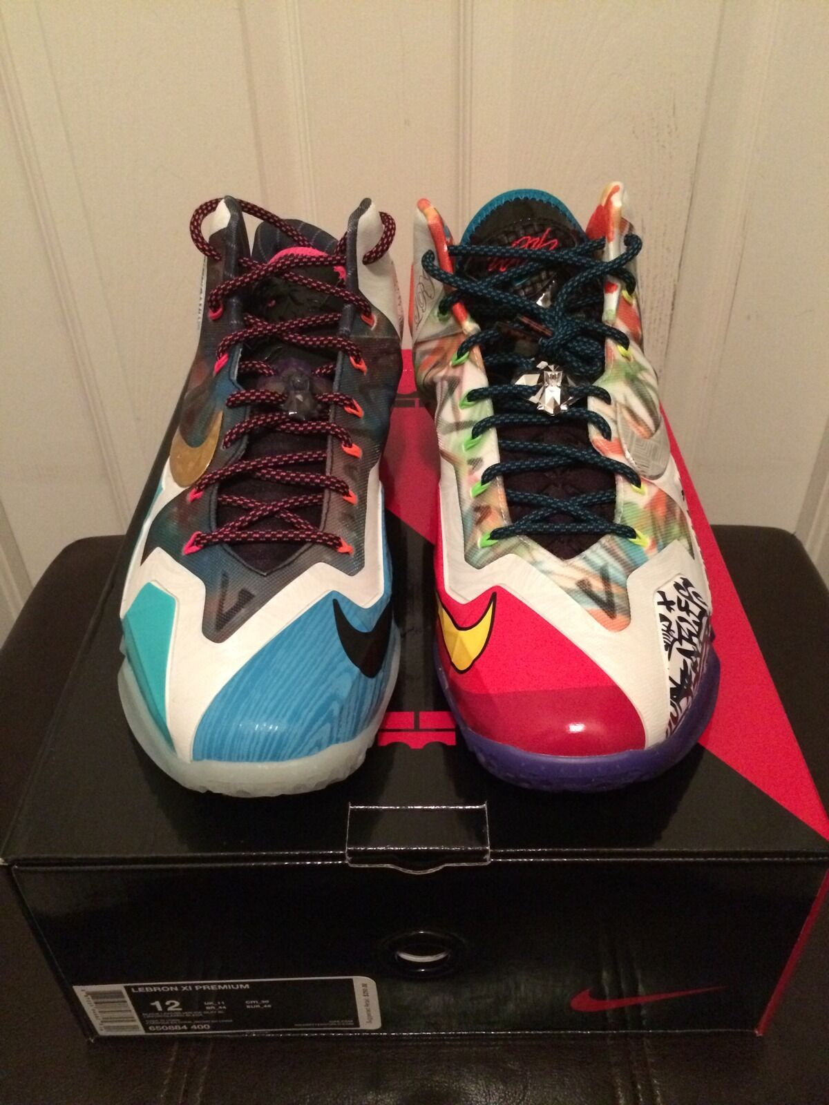 Nike Lebron XI 11 Premium What The Lebron WTL 650884 400 Sz 12 The most popular shoes for men and women