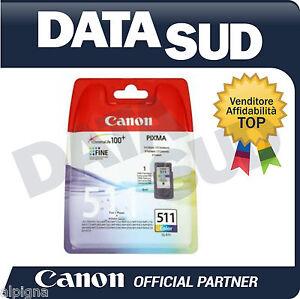 Canon-Cartuccia-Inkjet-OriginaleCL-511-Colore-per-Pixma-iP2700-MP240-MP280-MX320