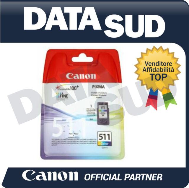 Canon Cartuccia Inkjet OriginaleCL-511 Colore per Pixma iP2700,MP240,MP280,MX320
