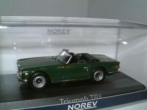 1 43 Triumph Tr6 In Brg Rhd Uk 1970 Open Sports Car Classic Norev New Ebay