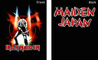 IRON MAIDEN T-SHIRT - SAMURAI JAPAN [S,M,L,XL,XXL] - NEW UNWORN - BLACK